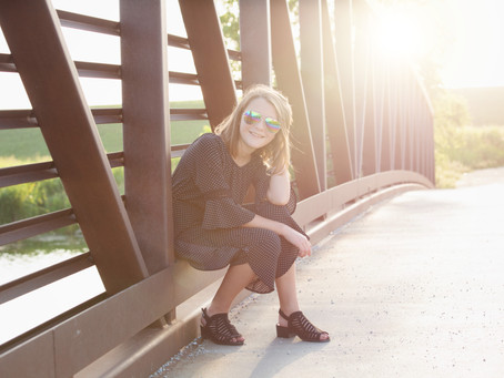 Love Bridges and Sun