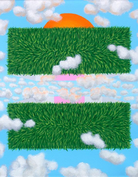 """Eclipse Box (Outside): Grass"""