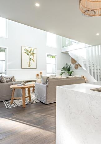 Modern Hamptons iving