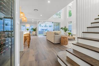 Hampton design interior - Pope St, Brisbane.