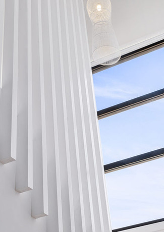 Beautiful staircase balustrade