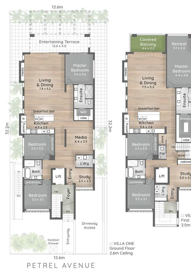 Floorplan alroe constructions duplex bui