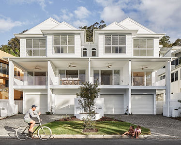 The Alley Terraces Development by Alroe