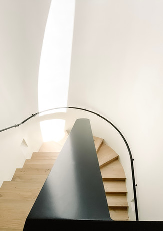Custom Staircase With Natural Filtered L