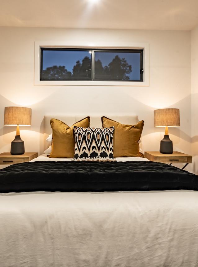 simple yet clean bedroom