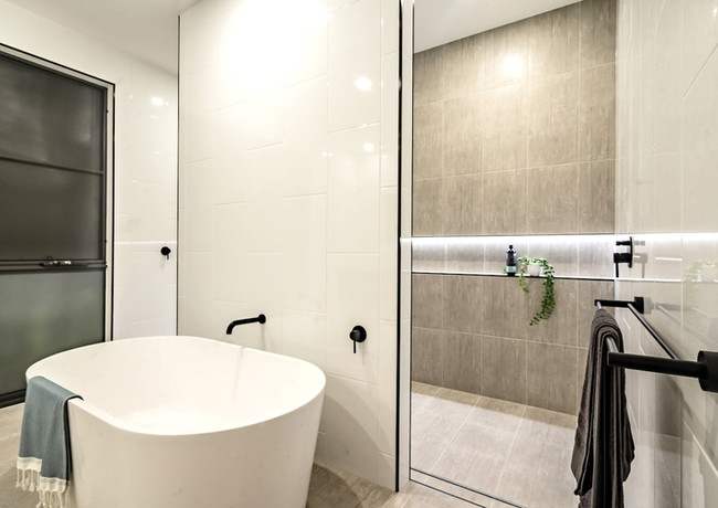 Modern bathroom design - Alroe
