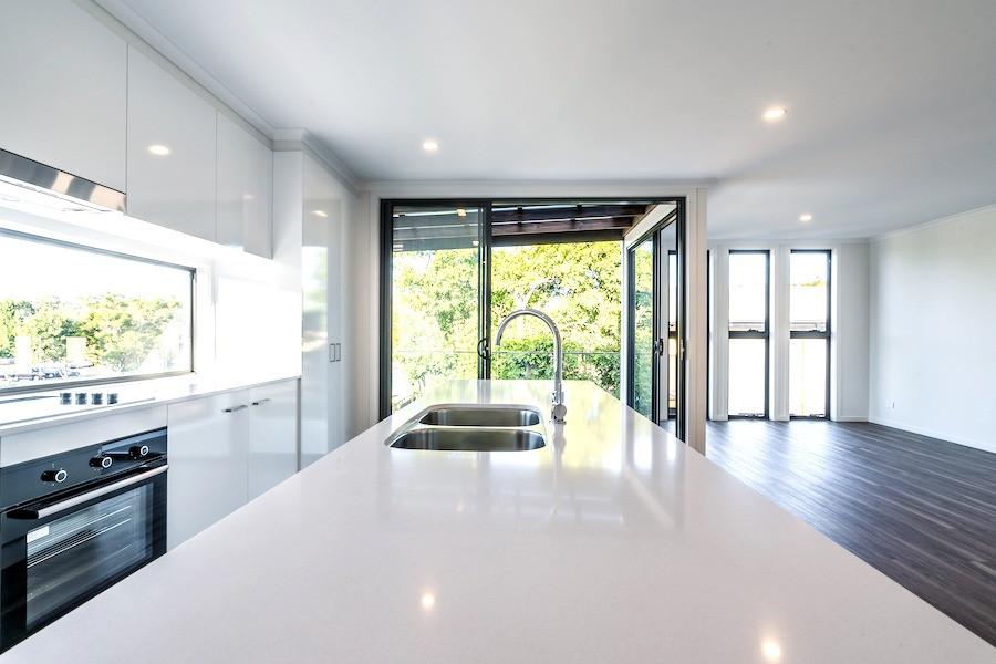 Well designed open plan living