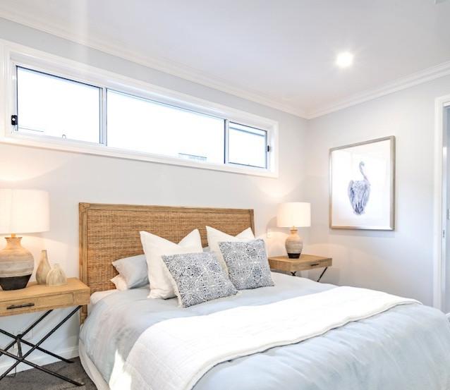 Light & fresh master bedroom - Alroe Constructions