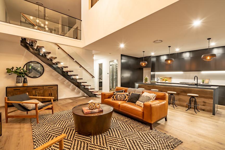 modern industrial interior design