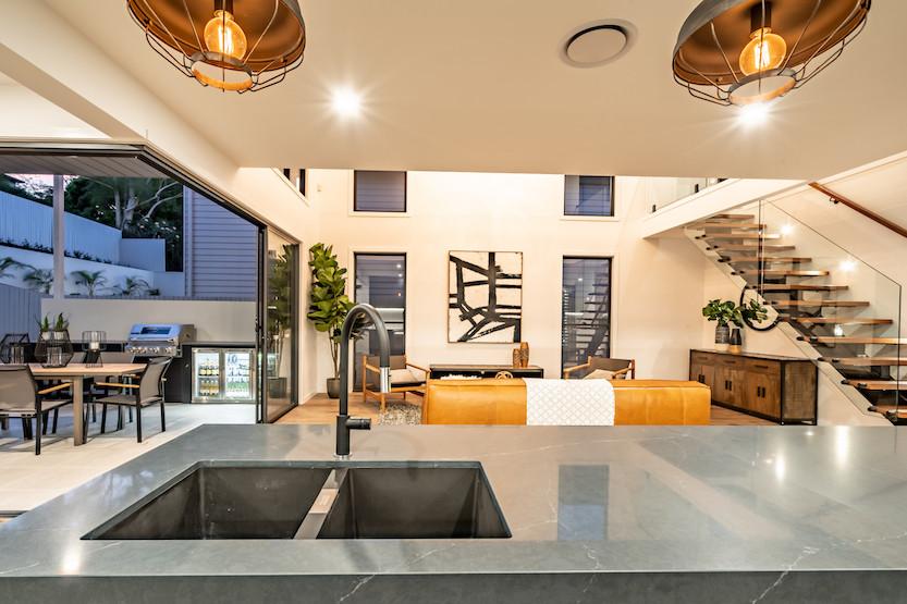 stunning interior design custom home builder - Alroe Constructions