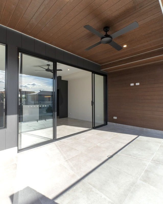 Beautiful styling with timber soffit