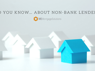 Did you know… about non-bank lenders?