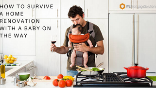 How To Survive a Home Renovation With a Baby On The Way