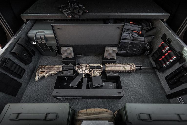 ShotLock AR Solo-Vault in a TruckVault