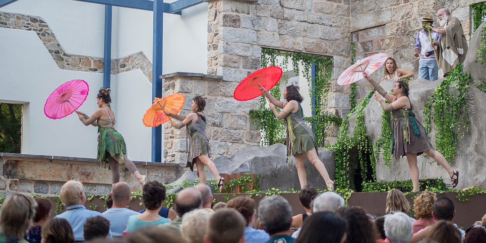 """Encore: Open-air production of """"A Midsummer Night's Dream"""" by Chesapeake Shakespeare Company"""