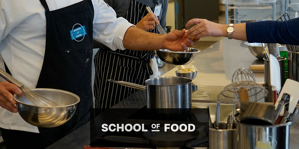 Essential Kitchen Skills 3-Class Series with School of Food