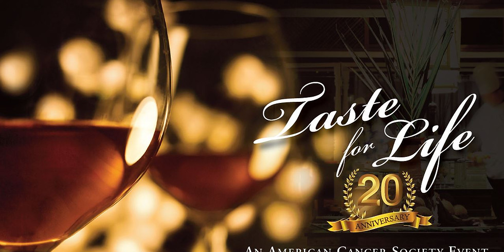 Taste for Life Benefit for American Cancer Society