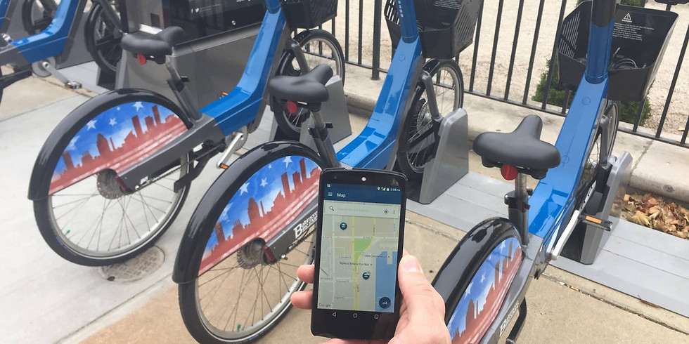 """""""Love the City You're With"""" BMore Bikeshare Tour"""