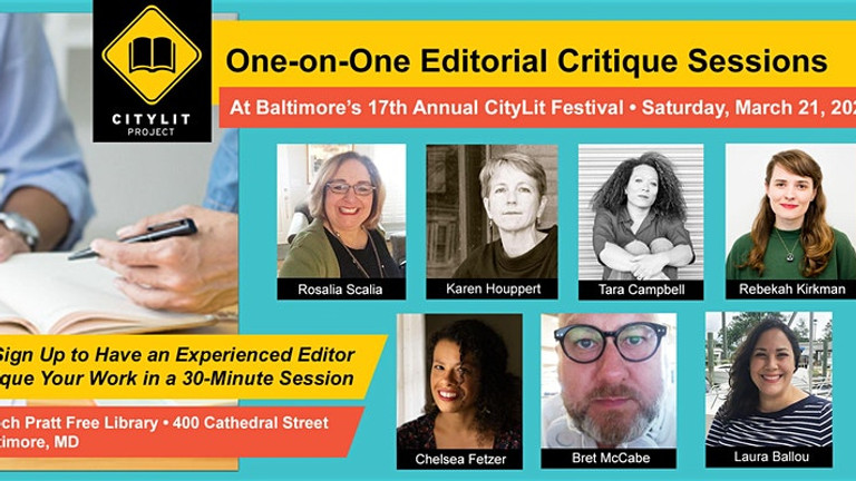 POSTPONED:  Join Mixolo for CityLit Festival! Bring your work-in progress for an editorial review by the experts.
