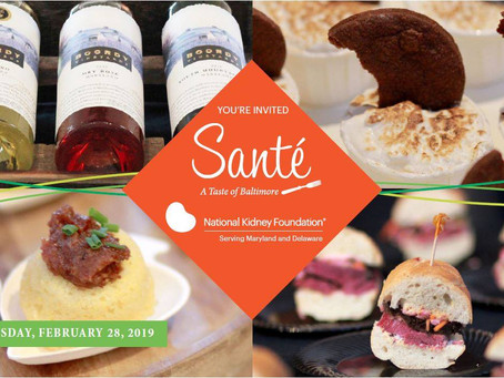 Sip and Nibble for a Cause