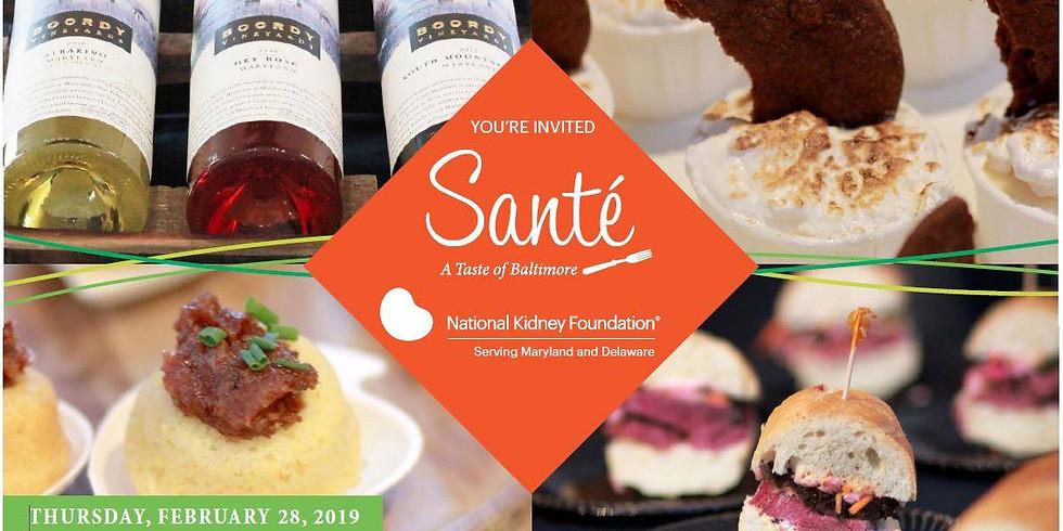 Sante'  - A Taste of Baltimore