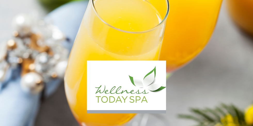 Spa day!  Moms and Mimosas (Aunties welcome, too)
