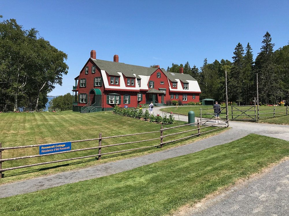 FDR summer cottage in campobello.