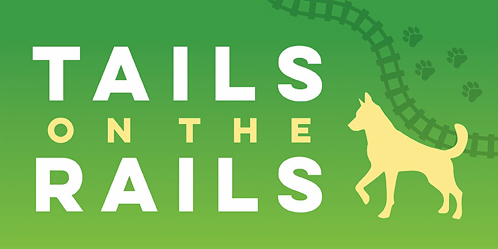 Bring your dog for the ride - TAILS ON THE RAILS at B&O Railroad