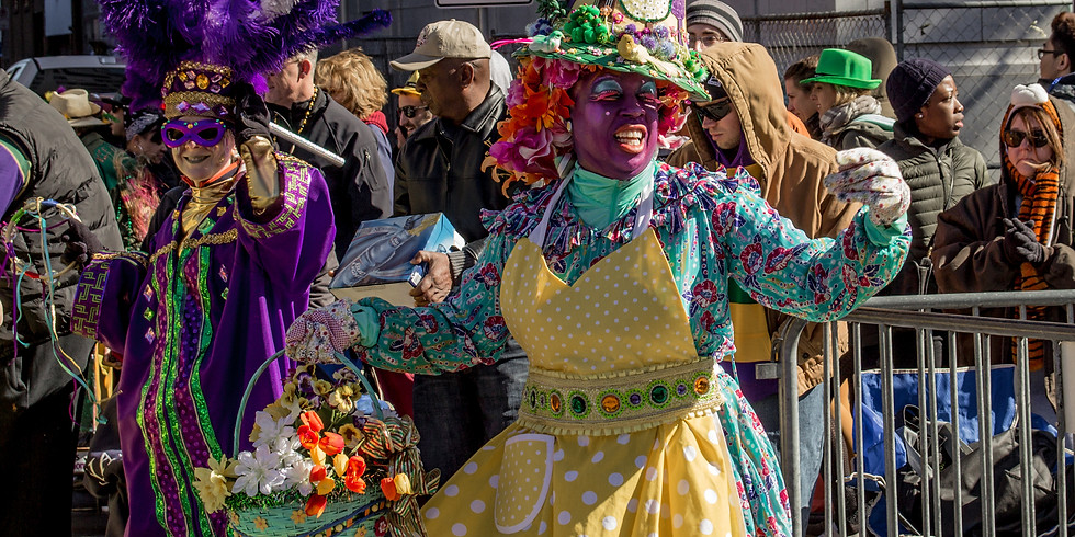 Mixolo Goes Out to DC's The Wharf.  For Mardi Gras???