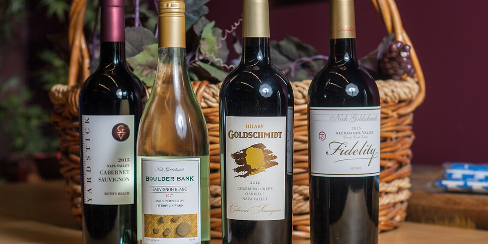 Tasting and Pairing with internationally renowned winemaster, Nick Goldschmidt