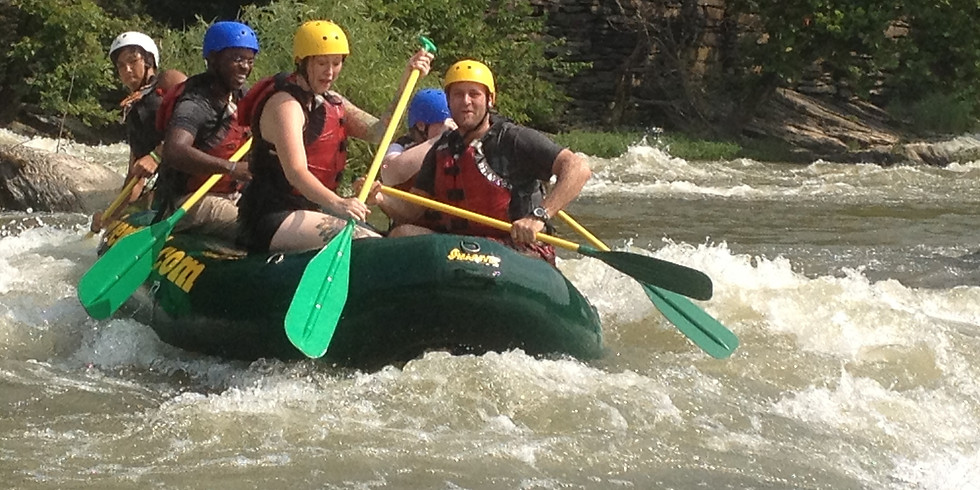 Team Mixolo Whitewater Rafting Adventure with Active Excursions
