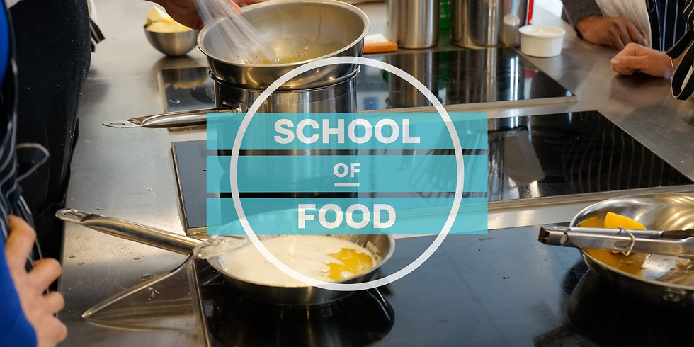Kitchen Skills Class Series, cont. -  Stocks Soups and Sauces