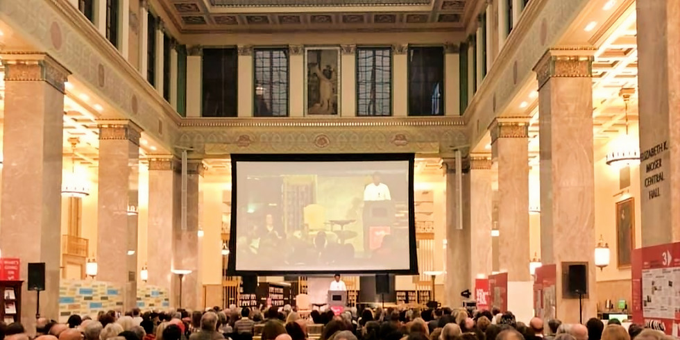 Mixolo Goes Out to Enoch Pratt Central Library for Inspiration