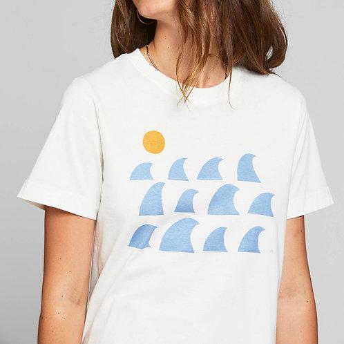Rays & waves t-shirt