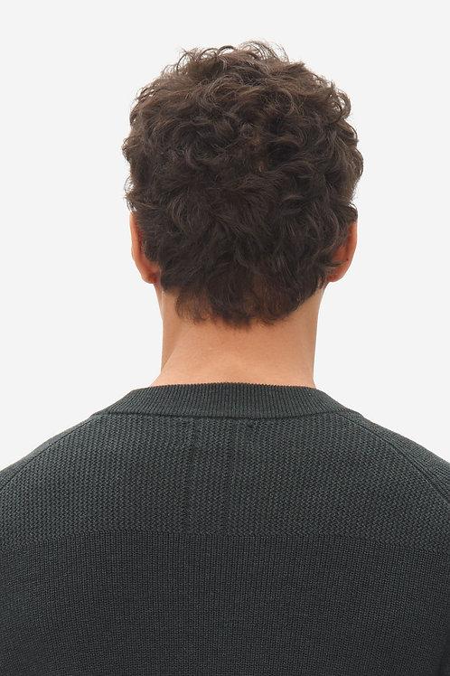 Multi structure sweater