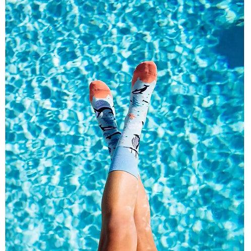 Deep blue sea sokken