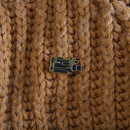Retro camera pin