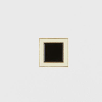 Black square pin