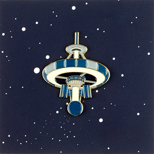 Space station pin
