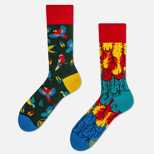 Papegaai sokken