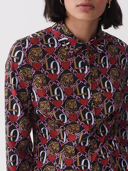 Tiger love blouse