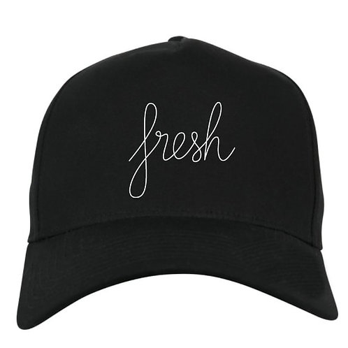 Fresh black cap