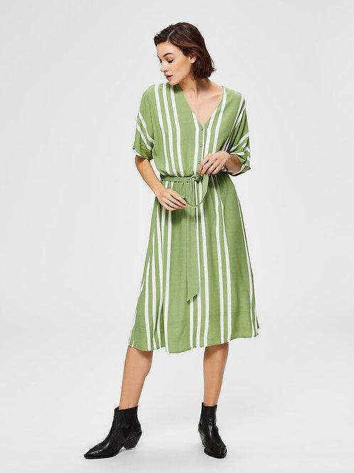 Vienna AOP dress