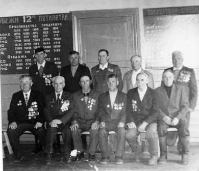 Ветераны 1975 г.
