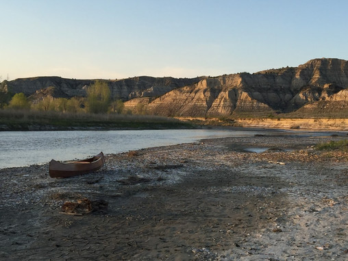 Trip Down Memory Lane: Canoeing Theodore Roosevelt National Park 2016