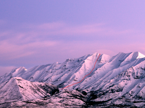 Winter Dreams: Skiing the Frontside of Mount Timpanogos
