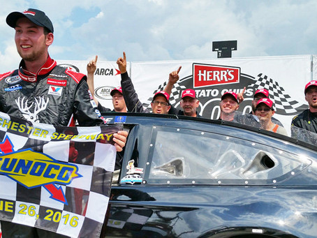 Briscoe out-duels Sargeant on final restart at Winchester for career-first win