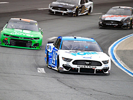 Briscoe Finishes 27th at New Hampshire