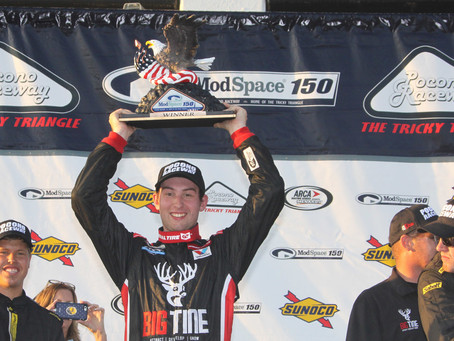 Four in a row for Briscoe; wins ModSpace 150 at Pocono