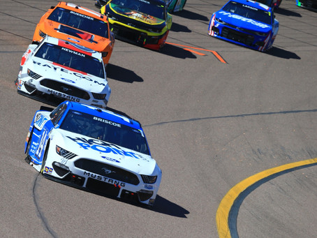 Briscoe Finishes 22nd at Phoenix